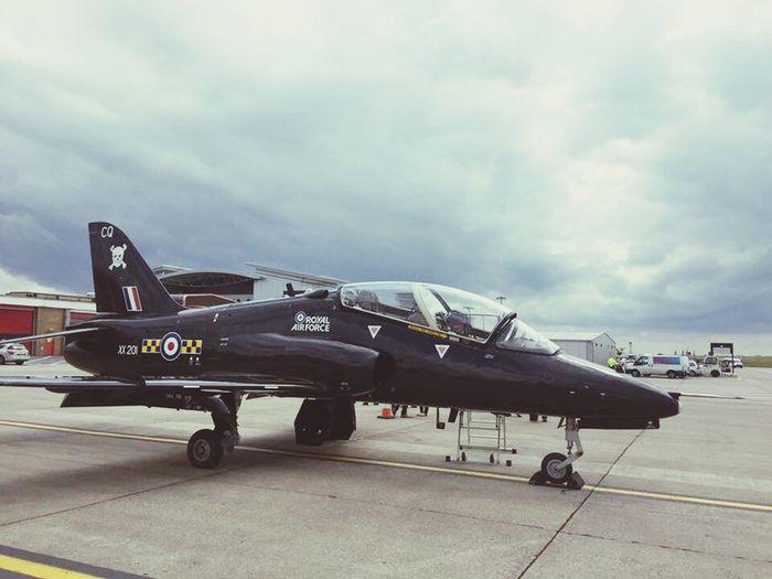 Hawk TMk1 Raf Leeds Bradford Airport Lba Fast Jets