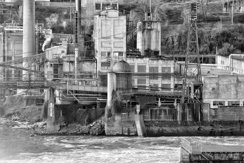 Industrial area on willamette river River Willamette Falls Willamette River  Taking Photos From My Point Of View Nikond3300 Eyem Gallery Eyemphotography Eyeem Photography Eye4photography  EyeEm Best Shots Taking Pictures EyeEm Best Shots - Black + White Black&white Photography EyeEm Gallery Going The Distance Blackandwhite EyeEmBestPics How Do We Build The World? The Architect - 2016 EyeEm Awards Monochrome Photography