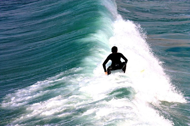 Activity Balance Escapism Power In Nature Rippled Sea Seascape Splashing Surf Water Wave