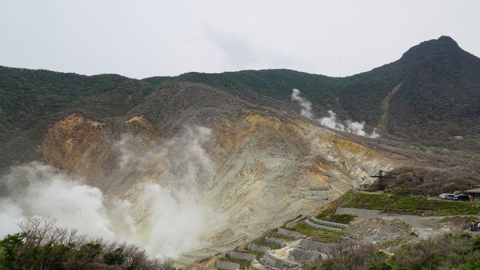 大涌谷 日本の風景 Japan Travel