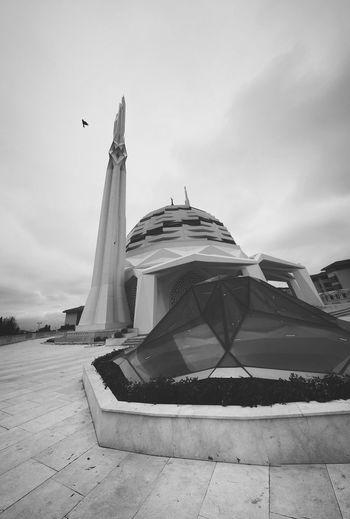 PROGRESSIVE Modern Mosque Mosque Place Of Worship Modern Modern Architecture Modernism Travel Destinations Architecture Politics And Government Travel History Sky No People Built Structure Day Outdoors