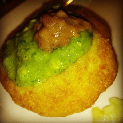 SoyTuFat Cupcake con frosting dé guacamole y chispas de frigol hahahaha
