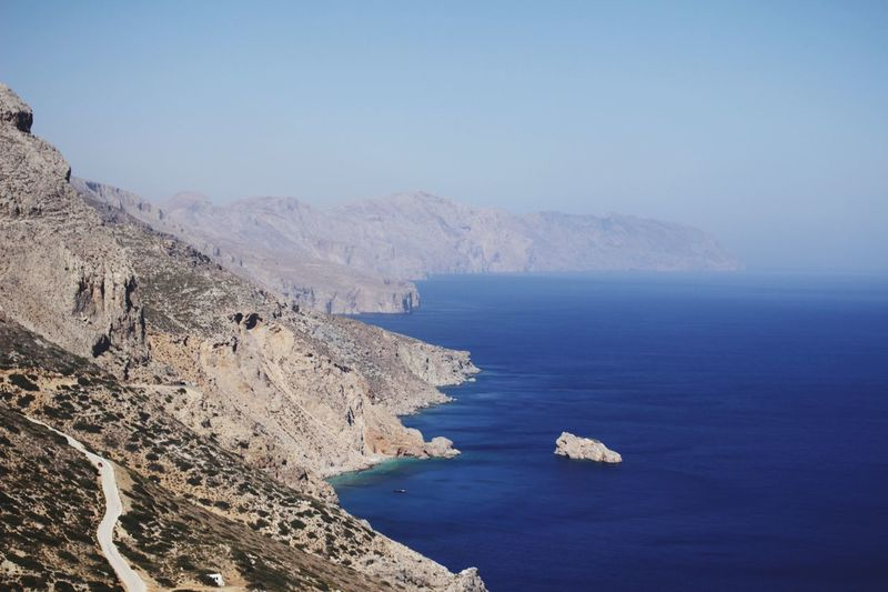 The Big Blue Sea Water Amorgos Greekislands EyeEmNewHere EyeEmNewHere