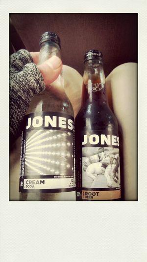 Best damn soda ever. Refreshing Jonessoda