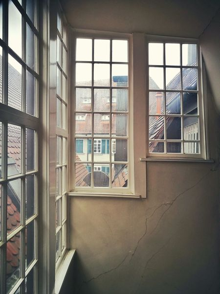 Staircase windows in a house originally dating from the 15th century Architecture Windows Window View Windows_aroundtheworld Historical Rainy Day Houses Roofs Rooftop Scenery The Places I've Been Today EyeEm Tadaa Community Enjoying Life Hello World Just Photography EyeEm Gallery Eye4photography  From My Point Of View See The World Capture The Moment My Photography The Architect - 2017 EyeEm Awards Squares And Lines