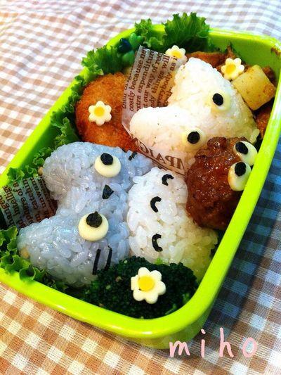 Lunch お弁当 Lunch Box Totoro