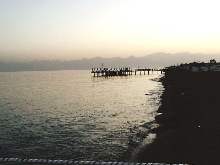 Sea Holiday Tatil Antalya Antalya Turkey Relaxing Taking Photos