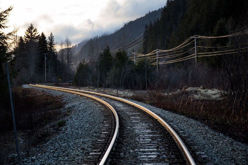 Golden Way | Canada | 2015  Nature Train Tracks Travel Photography Travel 43 Golden Moments