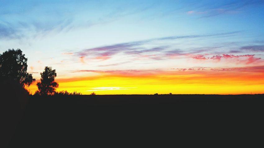 Follow the sun. Sunset Naturelover Addiction