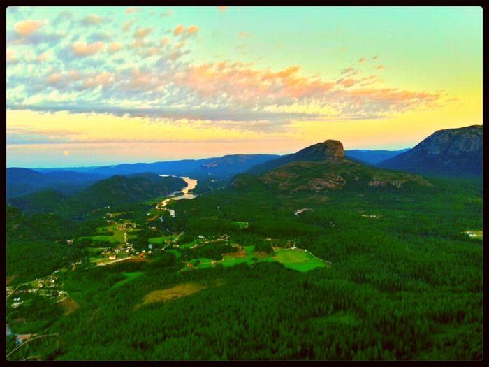 EyeEm Nature Lover 25 Days Of Summer Sunset Mountains Norway !!