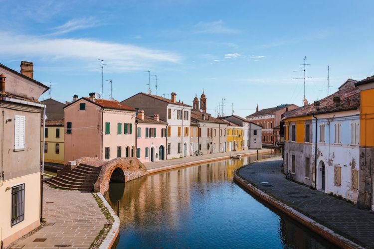 Bridge of sisti of comacchio