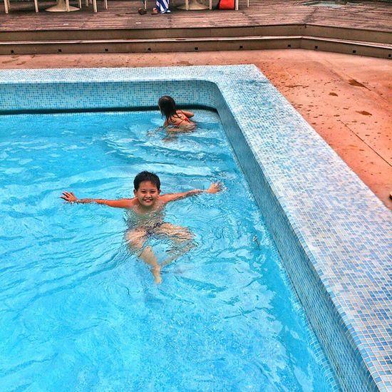 TWOKIDS Bonding Swimming Myson MyNiece Withmom Heritagemanila