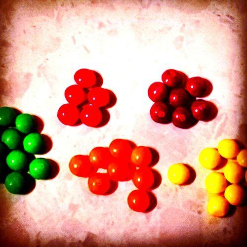 Sweets Skittles Organized Taste