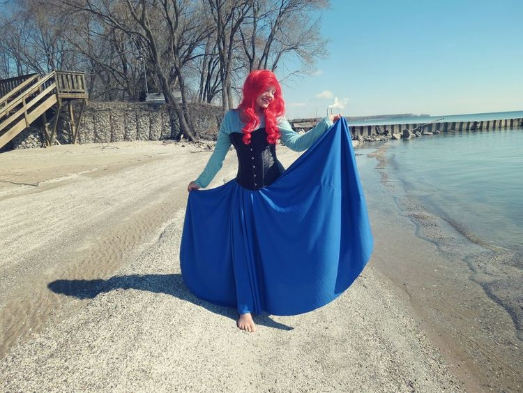 The Little Mermaid Cosplay Disney Princess Cosplayer Cosplaying Disney Hanging Out That's Me Check This Out Taking Photos