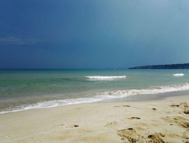 Beach Water Wave Sea Beach Sand Blue Summer Water's Edge Backgrounds Sunny Seascape Island Coast