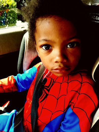 Serious Spider-Man Superhero Spiderman Children Serious Toddler  Passenger