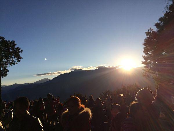 驚喜連連的美麗日出, 阿里山真的好美👍👍👍