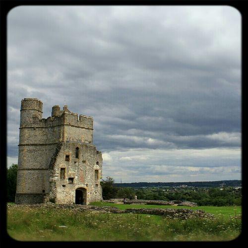 Clouds Landscape Castle