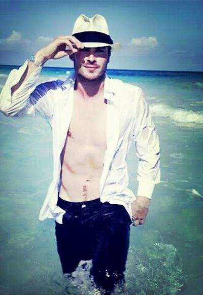 Lindo !!! Ian Somerhalder Model