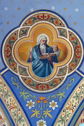 Saint Matthew the Evangelist Art Belief Christianity Church Croatia Evangelist Faith Fresco Holy Matthew Patron Religion Religious  Sacred Saint Spiritual Spirituality Worship