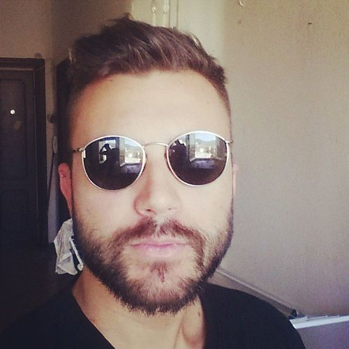 Belin gli occhiali di bebo ?Casasalvi Pierogorgi Me Sunglasses vintage love picoftheday beard selfie follow followme italy boys