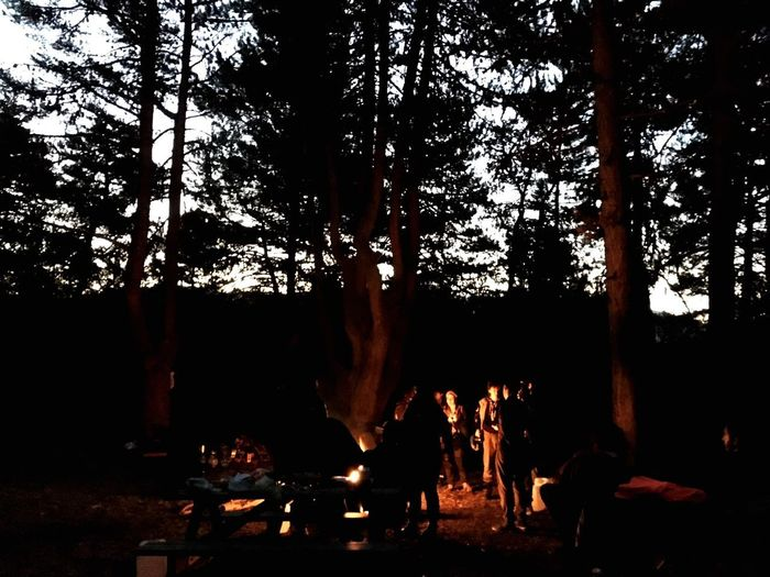 Scout Camp Fire Fire - Natural Phenomenon Burning Flame Heat - Temperature Group Of People My Best Travel Photo People Campfire Outdoors Lifestyles First Eyeem Photo