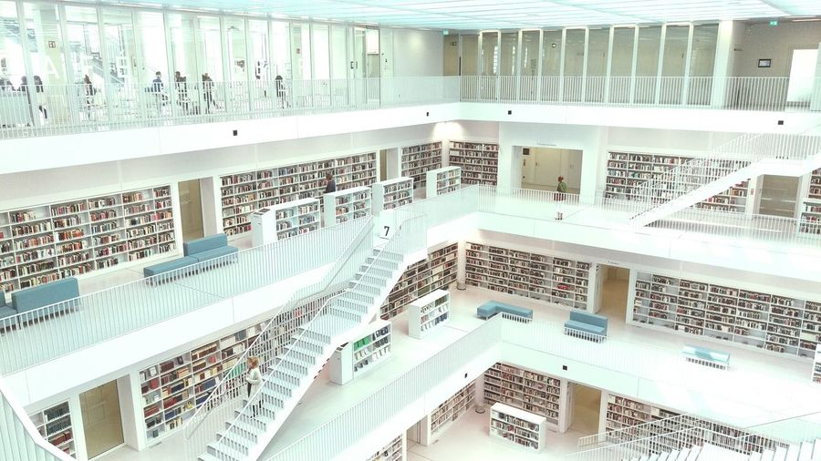 Architecture Modern Library Modern Architecture Open Edit Built Structure Stuttgart Architecture Architecture_collection Buildings The Secret Spaces EyeEm Diversity Your Ticket To Europe