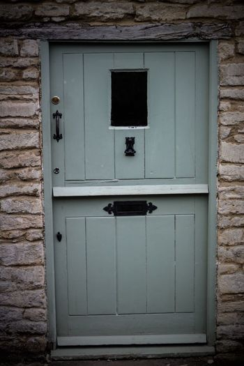 Cotswolds Cirencester Cottage EyeEmNewHere Closed Entrance Door Architecture No People Built Structure Safety