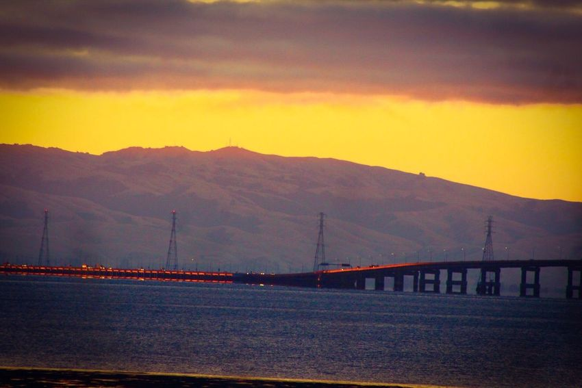 San Mateo Bridge San Mateo EyeEm Gallery Eyemphotography Eyem Gallery San Francisco Bay Bridge Sunrise Sunrise_sunsets_aroundworld