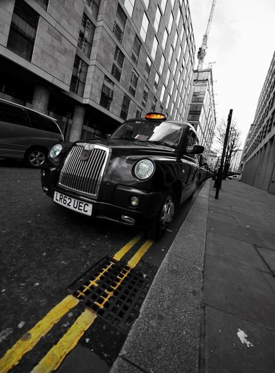 London Taxi Built Structure Architecture City Building Exterior Car Transportation Retro Styled Old-fashioned Day Outdoors No People