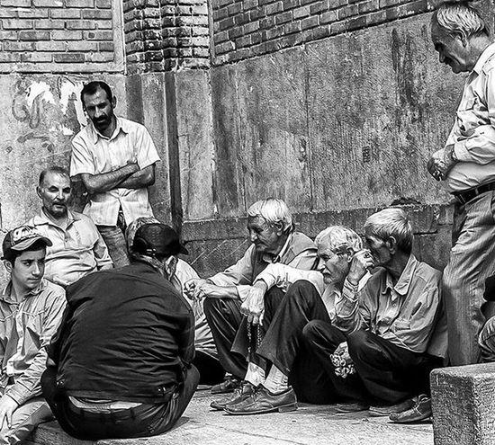 Ricoh Gr Ricohgr Blackandwhite Monochrome Esfahan Streetphotography Street Oldmen Men