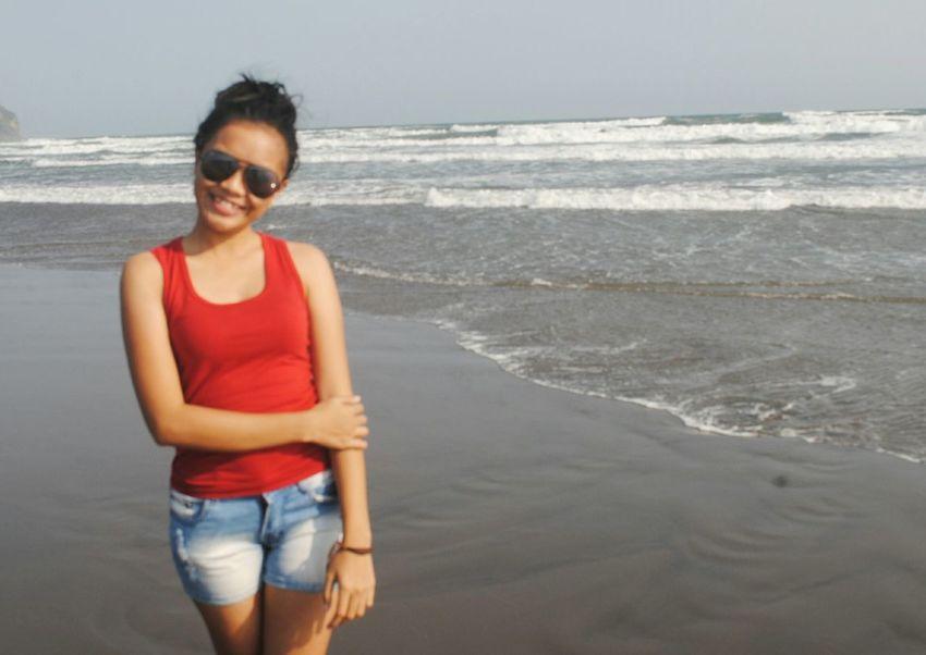 Asiangirl Indonesian Wonderful Yogyakarta Parangtritis Beach Photography