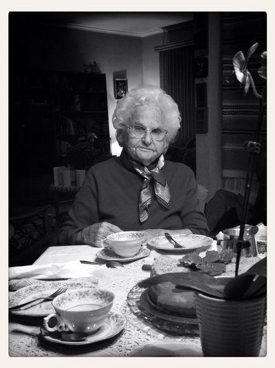 Grandma Helga on her 96th birthday WeAreJuxt AMPt - Shoot Or Die Diveportrait