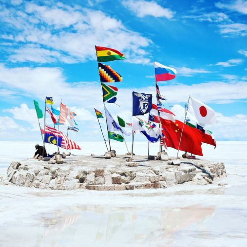 Flags Outdoors