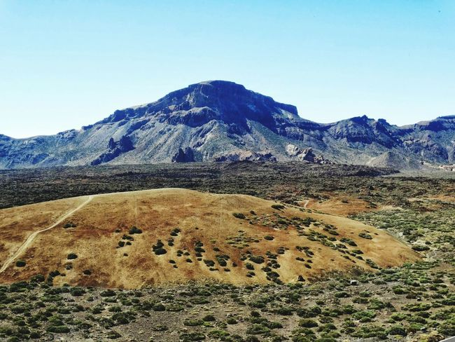 Mountain Volcano Nature Landscape Day No People Mountain Range Volcanic Landscape Outdoors Scenics Sky Desert Beauty In Nature The Great Outdoors - 2017 EyeEm Awards Travel Destinations El Teide National Parc El Teide, Tenerife  High Angle View El Teide, Tenerife  Beauty In Nature Travel El Teide Lunar Landscape Lava Arid Climate