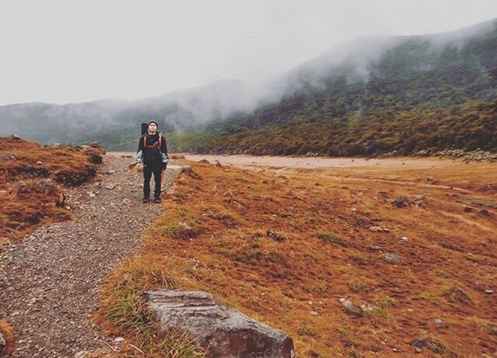 Freedom Mountain Hiking One Person Walking Outdoors First Eyeem Photo