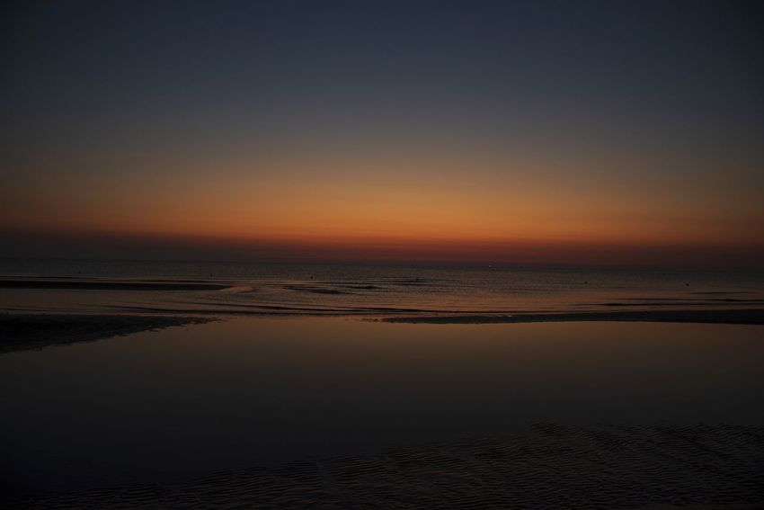 Beach Beauty In Nature Copy Space Crepuscolo Sulmare Horizon Horizon Over Water Idyllic Land Nature No People Non-urban Scene Notte Outdoors Reflection Scenics - Nature Sea Sky Sunset Tranquil Scene Tranquility Tranquillità Water