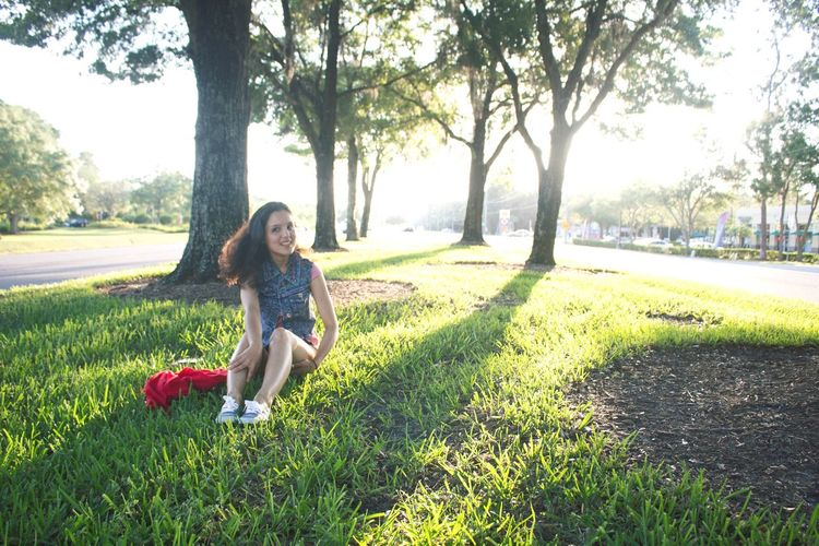 Sunny Day Sunny ☀ Sunset Sun Sunlight Tampa University Of South Florida Girl Green Grass