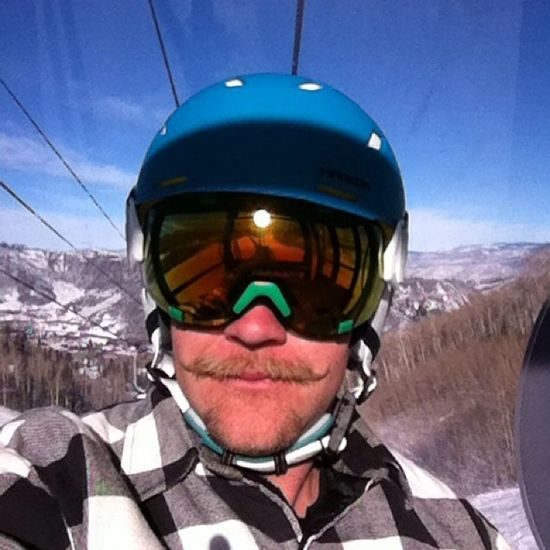 The benefit of 13 hour days, ski breaks! Beautiful bluebird days means I can ski in flannel, like a true man. Stache Jtbealkahasnochance Hashtagssuck