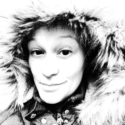 winter Fashion Stories One Person Portrait Headshot Human Face Looking At Camera Child One Girl Only