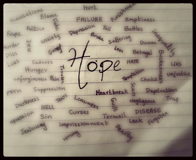 Hope Helps Us Through Everything