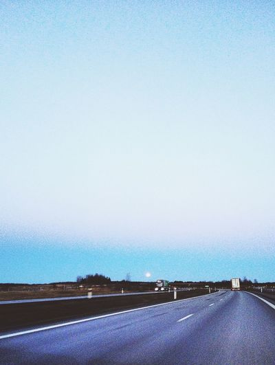 On The Road Moon