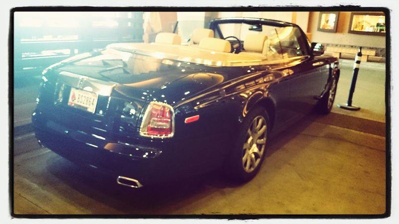 Starbucks Scottsdale Rolls Royce Midlife Crisis