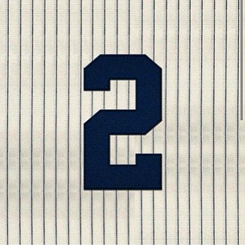 Today Is Also DerekJe2er Day = DaCaptain HallOfFamer Yankees BronxBombers