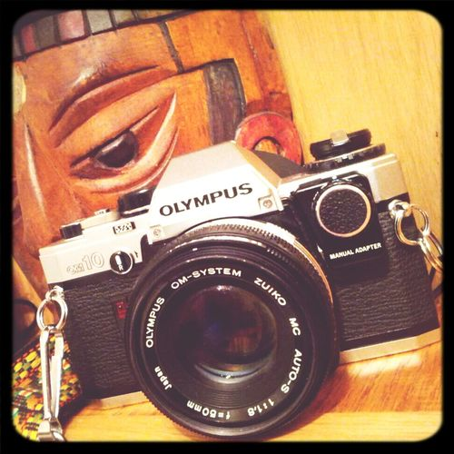 Legendary OM Series. #vintage #camera Olympus