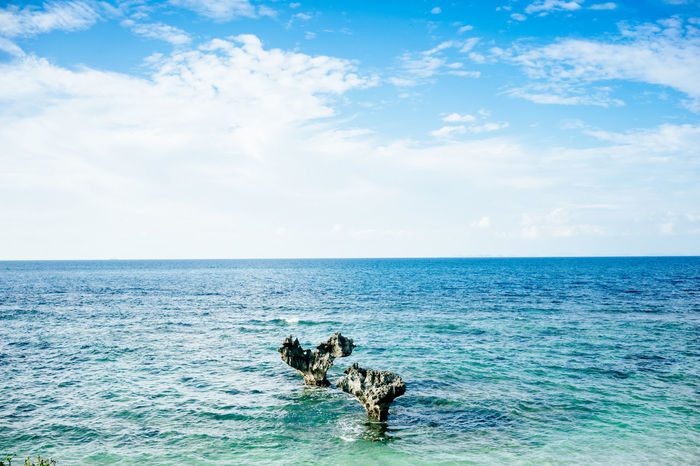 OKINAWA, JAPAN Okinawa Okinawa Love Heart ❤ Beachlife Ocean Love Water Sky Sea Seascape Seascape Photography Beach Life Sail Away FAR AWAY Tropical Summer Breezee Ocean And Rock Rocks And Sea Beautiful Day Beautiful View Heart Shape Heart Rocks Heart Rock Two Hearts