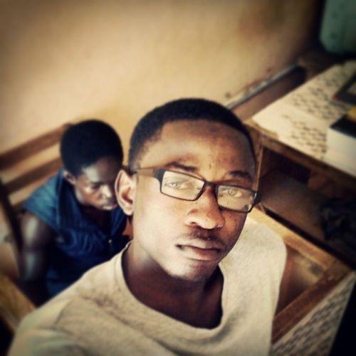 Sutro filtered. Game face is on. Last week in Navrongo UDS14 2014grads Udsgh KampusLife