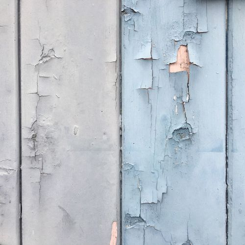 Door Outdoors Built Structure Day No People Building Exterior Peeled Textured  Architecture Close-up Weathered Blue Chance Encounters
