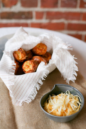 Baked Goods Breakfast Cheese! Snack Baked Pastry Item Bakery Cheese Cheesy Close-up Food Food And Drink Muffin Muffin Tin Muffins Pastry Popover Popovers Ready-to-eat Rolls