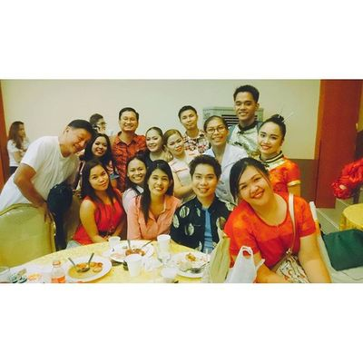 SURGERY WENT TO CHINATOWN. With the Chairman and the New Chief Resident. 📷📹🎥 🐉🐲🐅🐵👍👌😄😍😁😂🍴🎁🍻🎉🎆 12142015 Surgerychristmasparty Peskies Teamsurgery Happyholidays Cameraroll PlainHappiness Lateupload